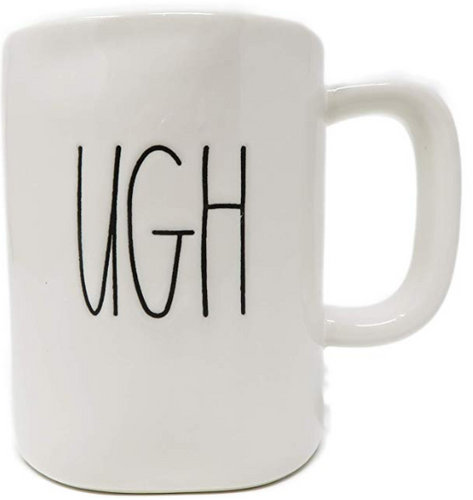 Rae Dunn by Magenta UGH Ceramic Coffee Mug