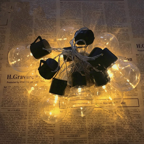 290CM Festoon Globe Bulb 10 LED String Light