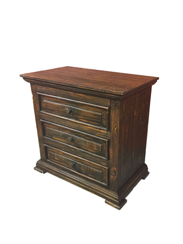 Chalet Rodeo 3 Drawer Nightstand