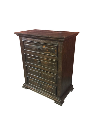 Chalet Rodeo 4 Drawer Nightstand