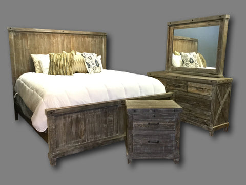 Industrial Barnwood Set
