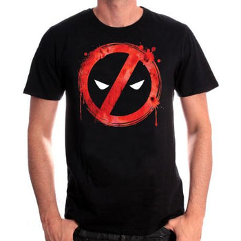 T-shirt Deadpool Marvel - Forbiden Splash Head