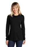 Ladies PosiCharge ® Tri-Blend Wicking Long Sleeve Hoodie