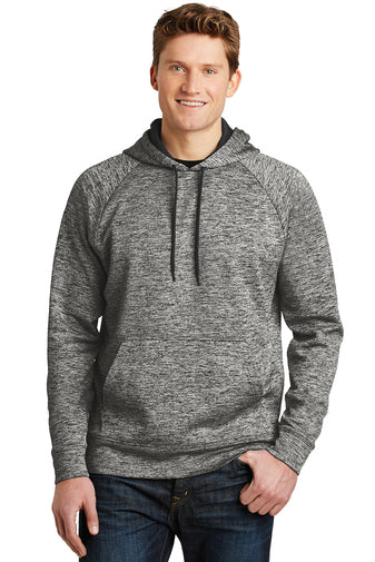 Sport-Tek® Unisex PosiCharge® Electric Heather Fleece Hooded Pullover