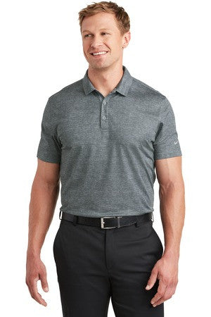 Unisex Nike Golf Dri-FIT Crosshatch Polo