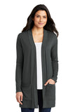 Ladies Concept Long Pocket Cardigan