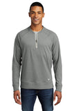 New Era ® Unisex  Sueded Cotton Blend 1/4-Zip Pullover