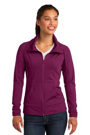 Ladies Sport-Wick® Stretch Full-Zip Jacket