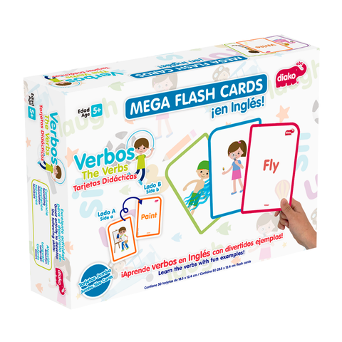 BU-F1805 <BR> FLASH CARDS VERBOS