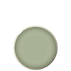BEVEL Luncheon plate - Sage, in stock