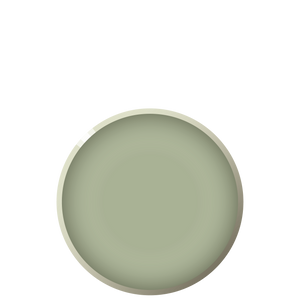 B04 BEVEL Luncheon plate - Sage, in stock