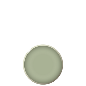 BEVEL Dessert plate - Sage, in stock