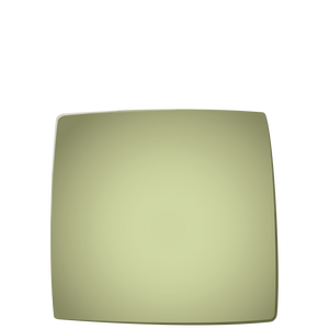 E01 EBI Square plate - Kiwi, in stock