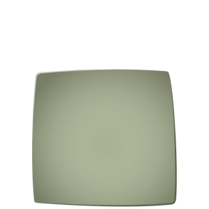 E01 EBI Square plate - Sage, in stock