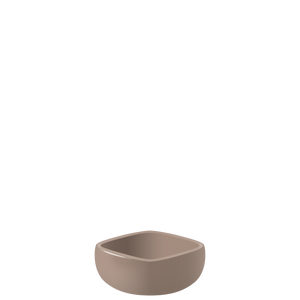 E07 EBI Medium square bowl - Fig, in stock