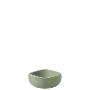 E07 EBI Medium square bowl - Sage, in stock