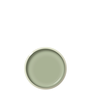 G06 WET GRASS Dessert plate - Sage, in stock