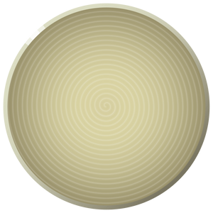 N01 ENSO Platter - Ginger, in stock