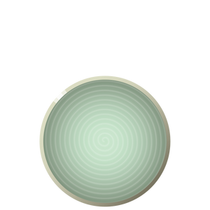 N04 ENSO Luncheon plate - Sea, in stock