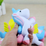 Unicorn Squishy in hand