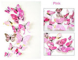 Butterfly Wall Stickers 3 views