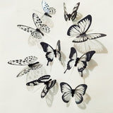 3D Butterfly Wall Decals | Butterfly Wall Decor 18pcs/lot