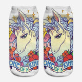 unicorn socks for women multicolors
