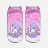 unicorn socks for women pink