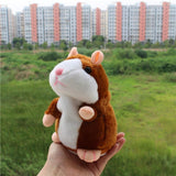 talking pet hamster electronic animal plush toy