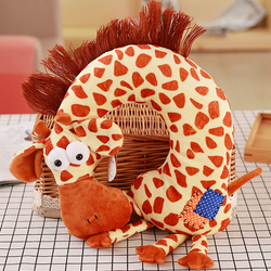 Animal Travel Pillow Giraffe