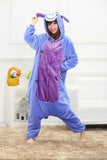 donkey adult unicorn pajamas