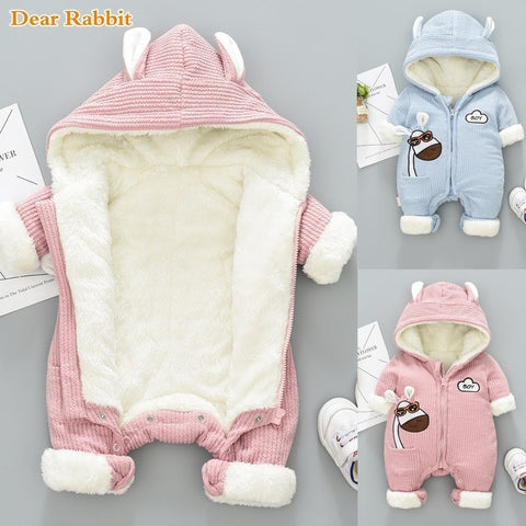 Baby Winter Overalls | Newborn Baby Snowsuit