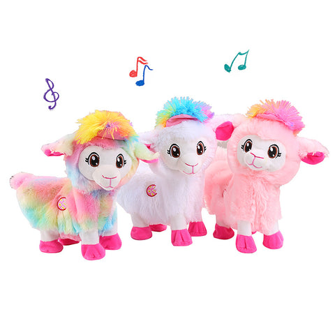 30CM Alpaca Musical Plush Toy | Alpaca Electric Plush Toy