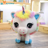 Blue Rainbow Unicorn Toy