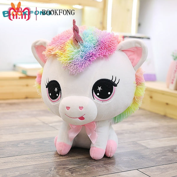 35cm Rainbow Unicorn Plush Toy
