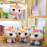 Rainbow Plush Unicorn Toy - 4 different colors