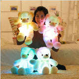 LED Teddy Bear Light 4 colors with woman