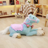 Unicorn Plush Toy Blue