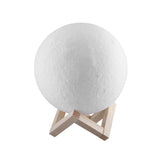 LED Moon Night Light Unlit