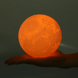 LED Moon Night Light Orange
