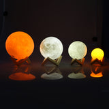 LED Moon Night Light 4 colors