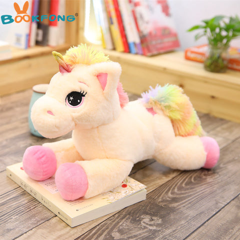 Unicorn Stuffed Plush Toy Pink