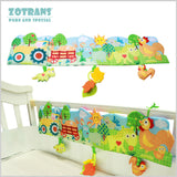 Baby Crib Bumper Farm Animals