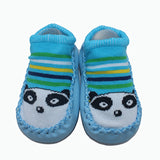 Toddler Moccasin Slippers Blue