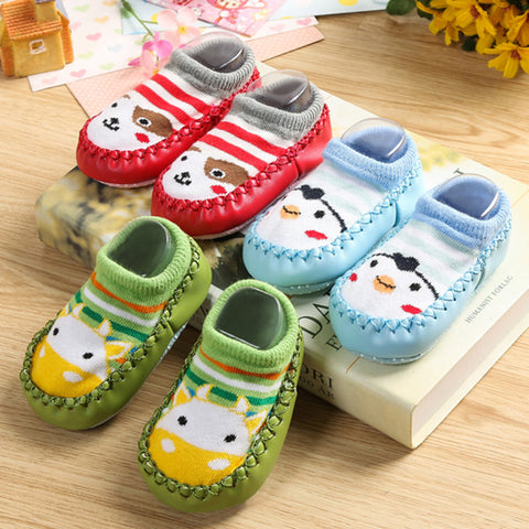 Indoor Baby/Toddler Moccasin Slippers