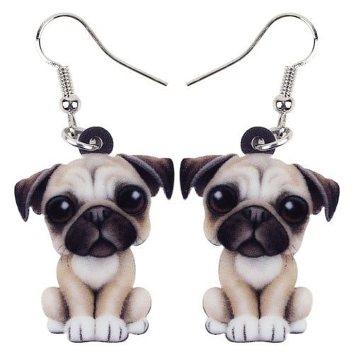 French Bulldog Earring