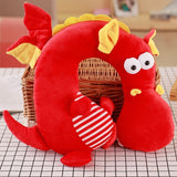 Animal Travel Pillow Red Dragon