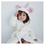 Unicorn Bathrobe For Girls