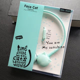 Stereo Headphones Blue Cat