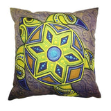 Linen Cushion Covers Yellow
